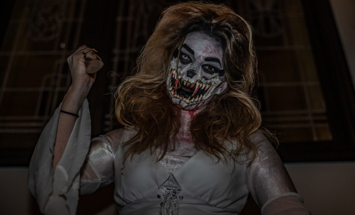 Hotel Amerika omgetoverd tot Haunted Hotel of Horror