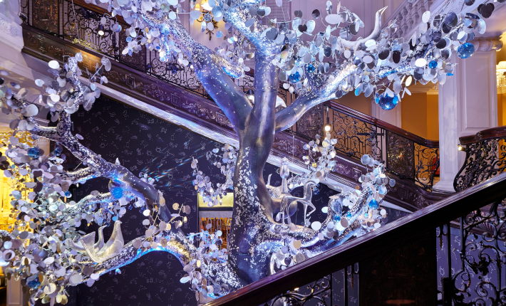 Claridge's Christmas Tree 2018 by Diane … Furstenberg