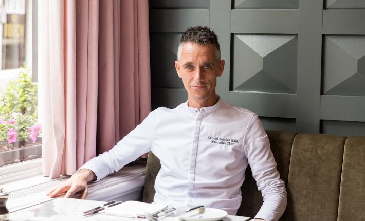 Chef Arnout van der Kolk