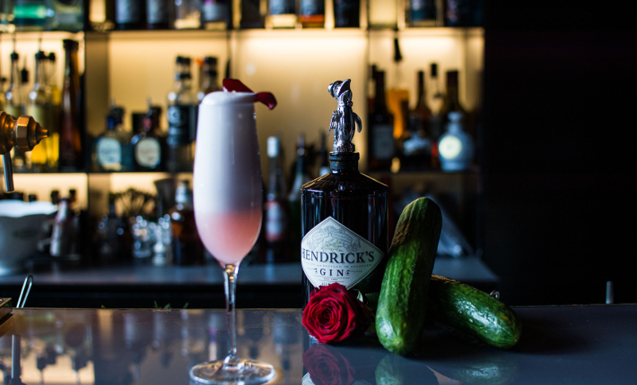 A most unusual Valentine's at the Tunes Bar in the Conservatorium Hotel