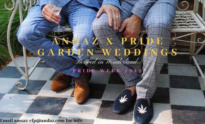 Andaz Hotel Prinsengracht - Pride Wonderland Weddings