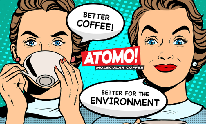 Atomo - The future of coffee