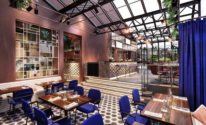 Bar Restaurant De Kop van Oost - Interieur