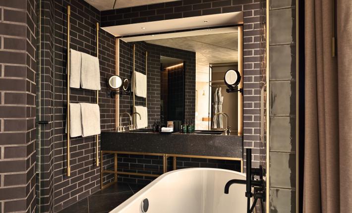 Bathroom QO hotel Amsterdam