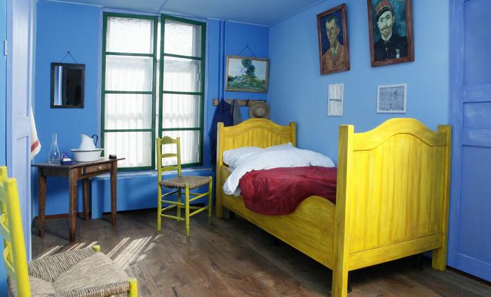 Bedroom VanGogh Hotel Riche Boxmeer