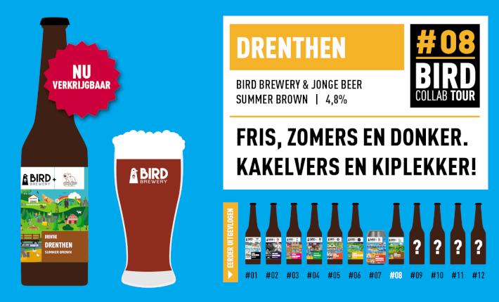 Bird Brewery Collab Tour: #8 Drenthen