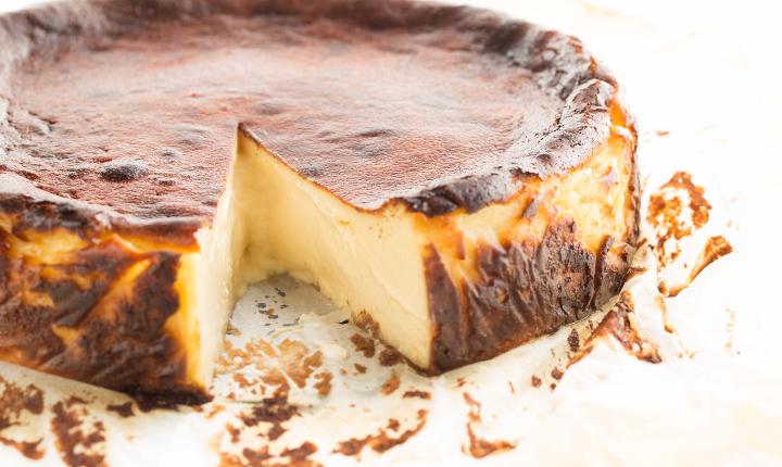 Original cheese cake at Cakes & Bubbles at Hotel Café Royal