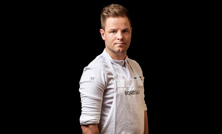 Chef Bas van Kranen van Bord´Eau - credits Rinze Vegelien