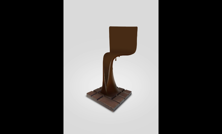 Chocolate factory chair by Haris Jusovic