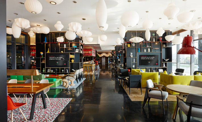 CitizenM Shanghai photo credits richard powers for concrete