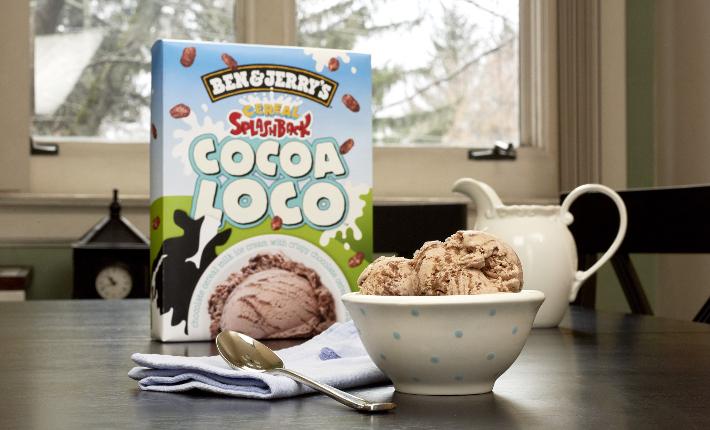 Ben & Jerry's Cocoa Loco flavor