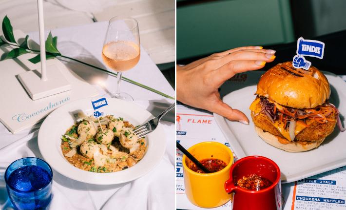 Cococabana Risotto en Big Birdy Yes burger