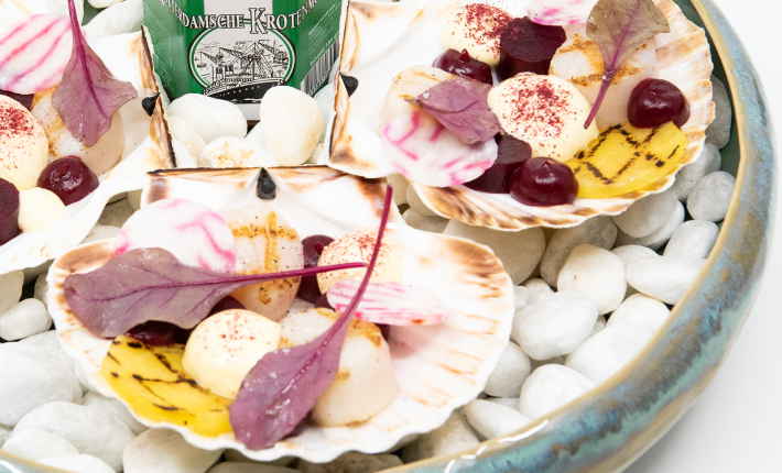 Coquille kroot Zeezout - Rotterdams menu voor 20-jarig jubileum van restaurant Zeezout