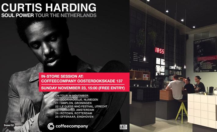 Coffeecompany Curtis Harding