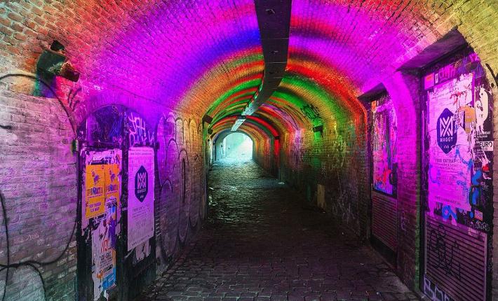 Duke of Tokyo - Ganzenmarkt Tunnel - credits Janneke Nooij