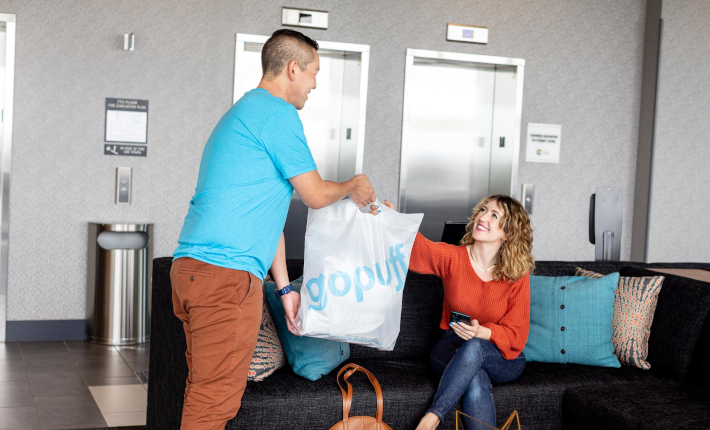 Essentials on-the-go by GoPuff at Hyatt Place Hotels