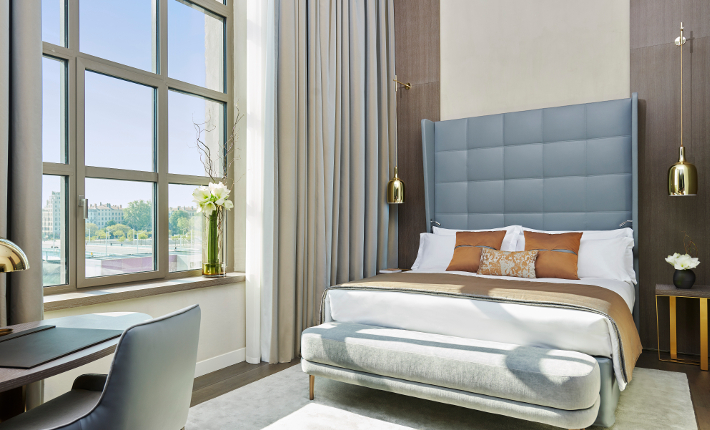Executive Room River View Grand Hôtel Dieu l credits Eric Cuvillier