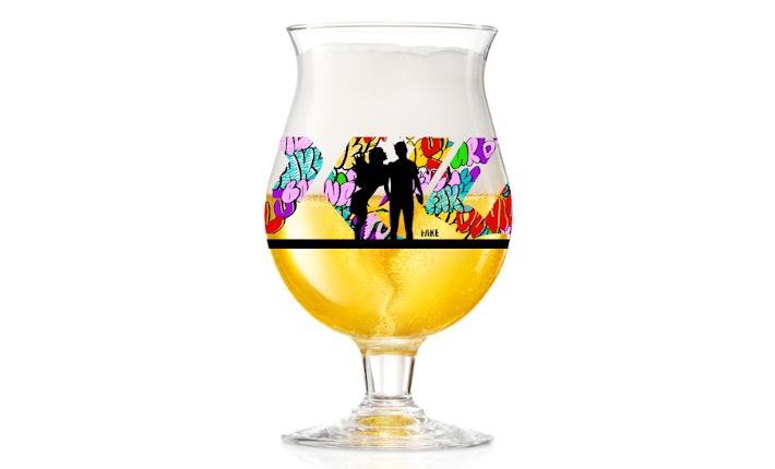 Design van Fake voor het Duvel Collection Glass.
