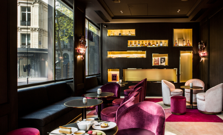 Fauchon L´Hôtel Paris - The library