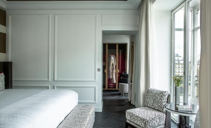 Fauchon L´Hôtel Paris - one of the rooms