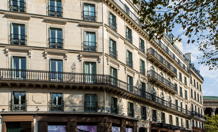 Fauchon L´Hôtel Paris - the exterior