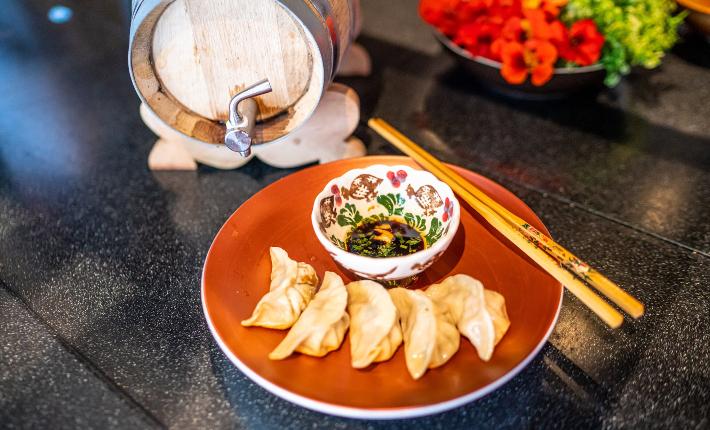 Food & Wine bar Nayolie by Kelvin Lin - dumplings