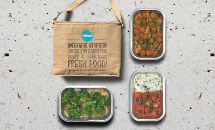 Foodmaker Vedge Bag - Dinner for Two de klassieke box