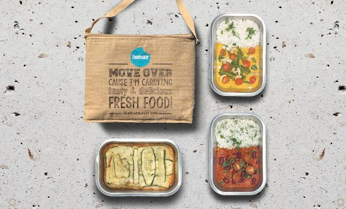 Foodmaker Vedge Bag - Dinner for Two, de vegan box