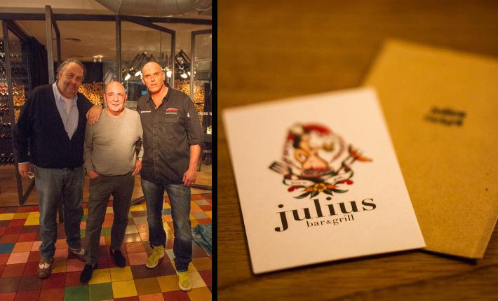 Gertjan Kiers bij Julius bar&grill