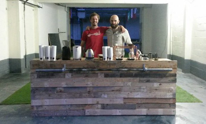 Pop-up koffiebar Black Box in Gent