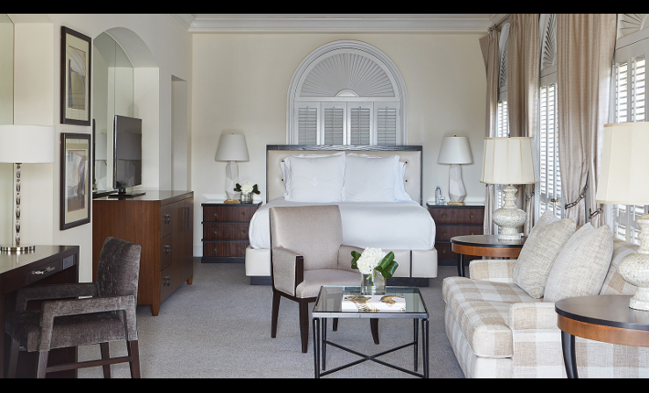 Urban Glamping at the Beverly Wilshire hote