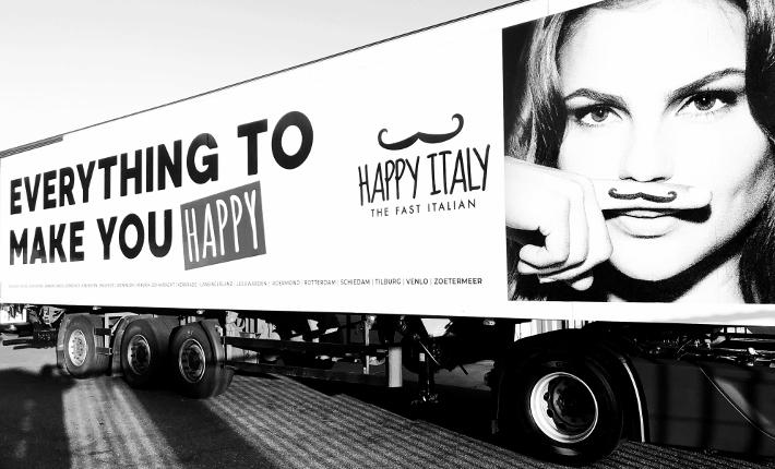 Happy Italy truck