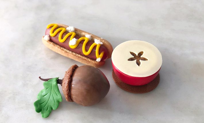 Haute Dog, Stroll in Central Park Chocolate Hazelnut Acorn, Bite of the Big Apple - Dominique Ansel Bakery Soho