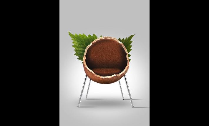 Hazelnut Chair by Haris Jusovic