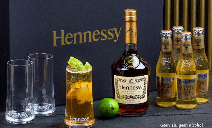 Hennessy at home, cocktailbox