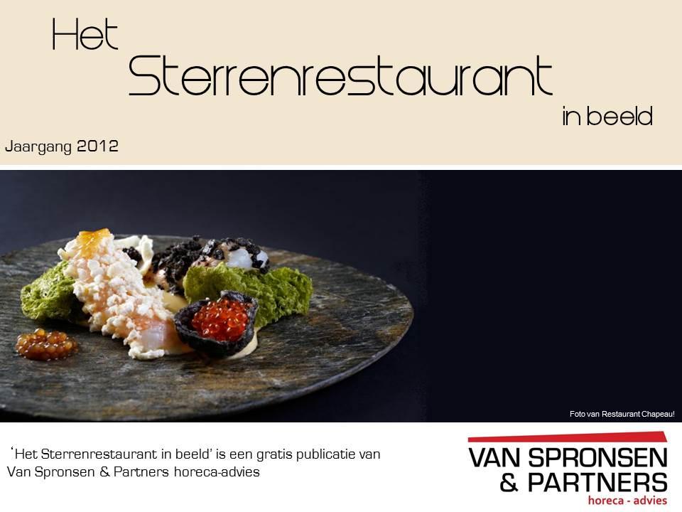 voorpagina Het Sterrenrestaurant in Beeld