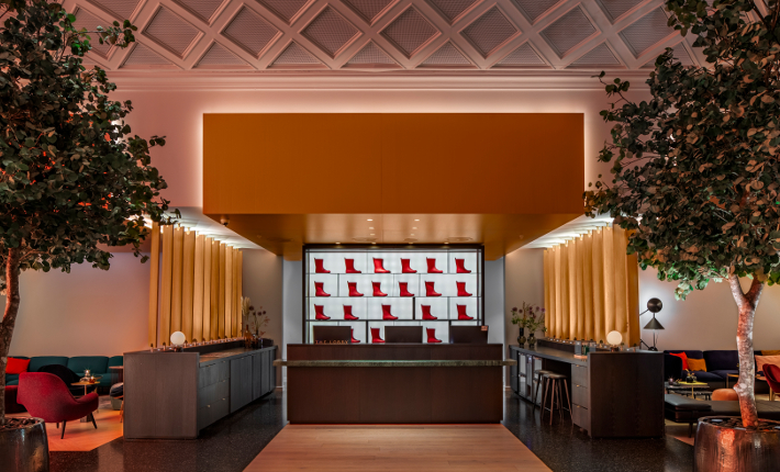 Hotel Norge, lobby check in - credits Wouter van der Sar for concrete