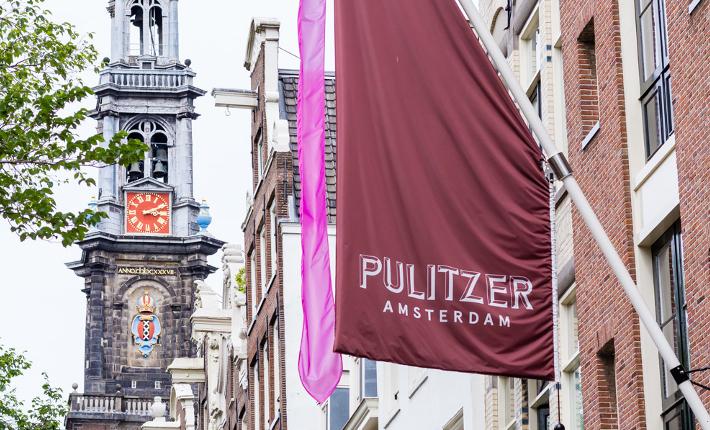 Hotel Pulitzer pride flag