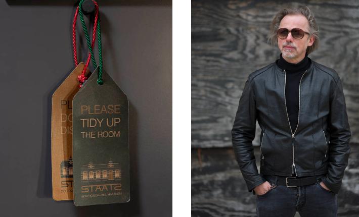 Hoteldesigner Michel Ruijgrok van ESTIDA