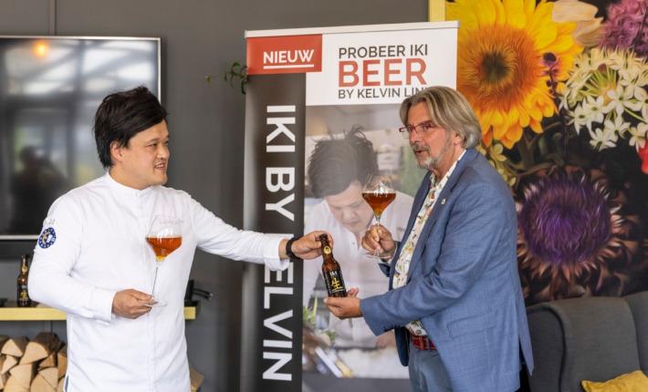 iKi Beer in samenwerking met Kelvin Li