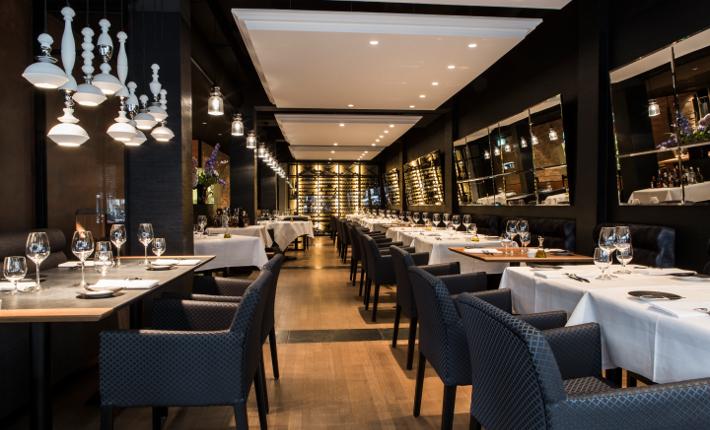 Interieur restaurant Amarone Rotterdam