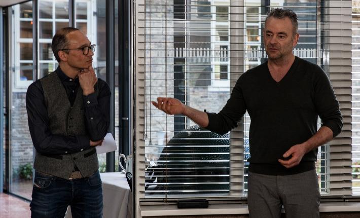 Jeroen Smeele en Marcel van Zomeren in IDRW
