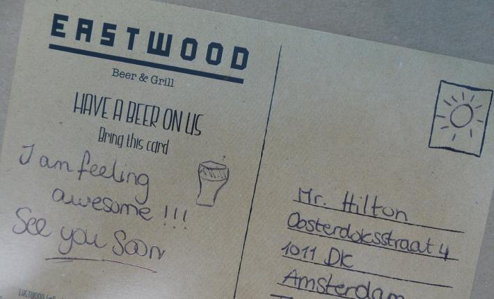 Eastwood ansichtkaart