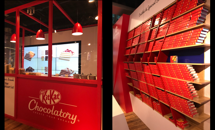 KitKat pop-up Chocolatory