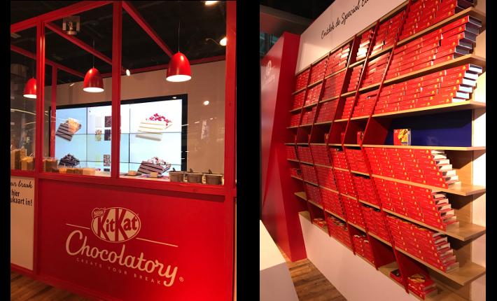 KitKat pop-up Chocolatory
