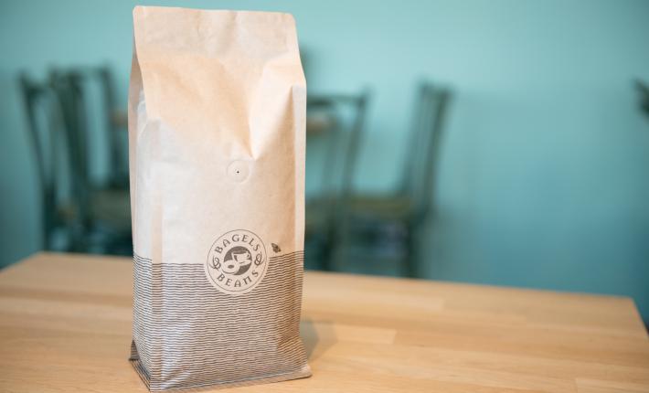 Koffie van Bagel & Beans