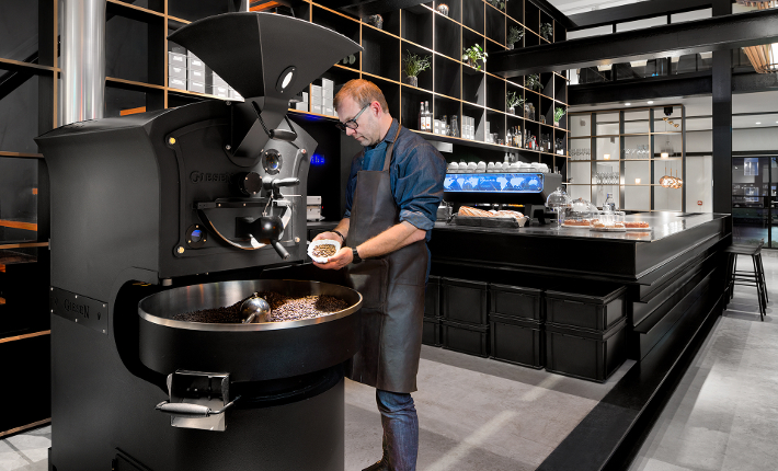 Capriole cafe Giancarlo Roaster