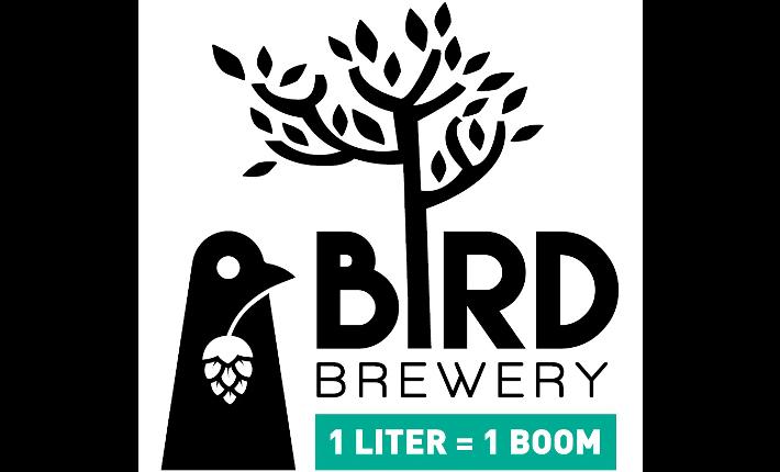 Bird Brewery plant bomen samen met duurzame groene nesten
