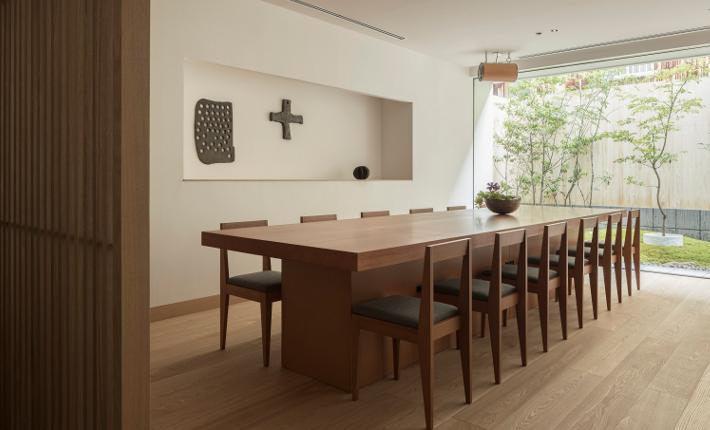 Lounge Enso Ango building Fuya l - credits Tomooki Kengaku
