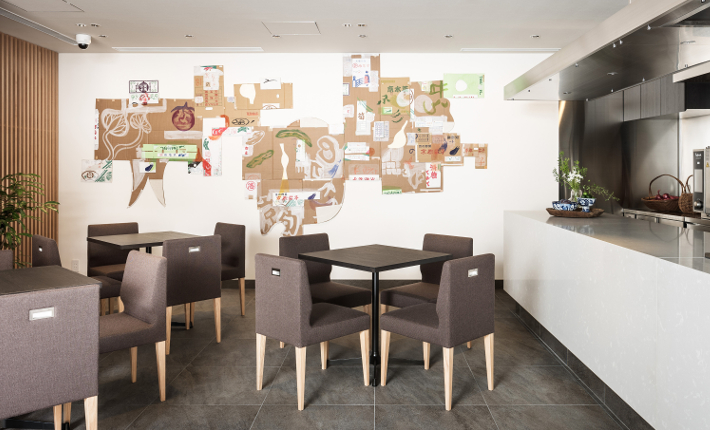 Lounge Enso Ango building Tomi l - credits Tomooki Kengaku